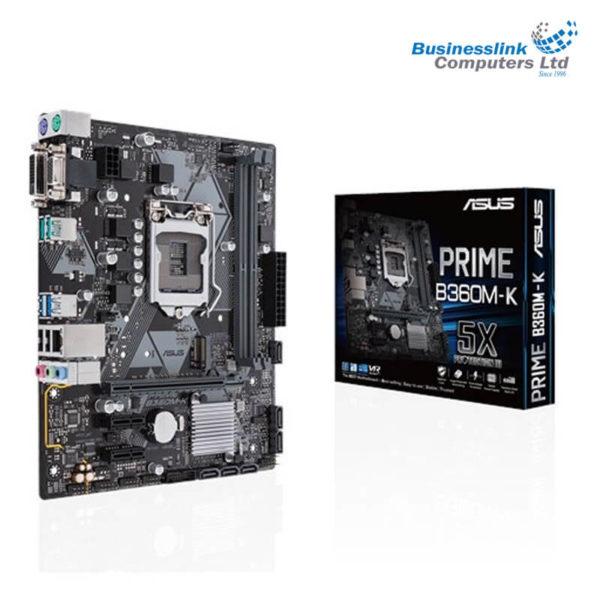 Asus PRIME B360M-K 8th Gen mATX Motherboard