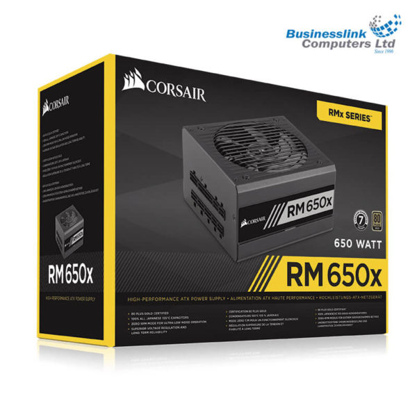 Corsair PSU RMx Series 650x RM650x