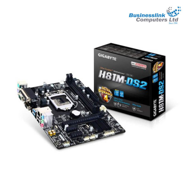 Gigabyte GA-H81M-DS2 Micro ATX Motherboard