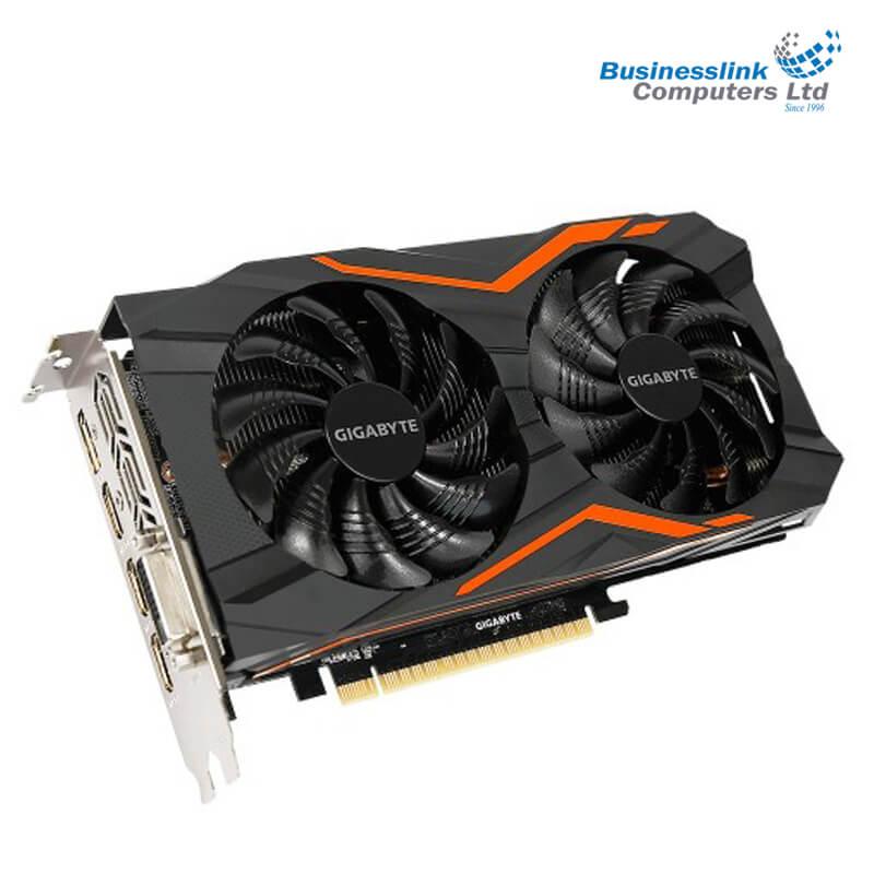Gigabyte Geforce GTX 1050 Ti G1 Gaming 4GB DDR5 Graphics Card