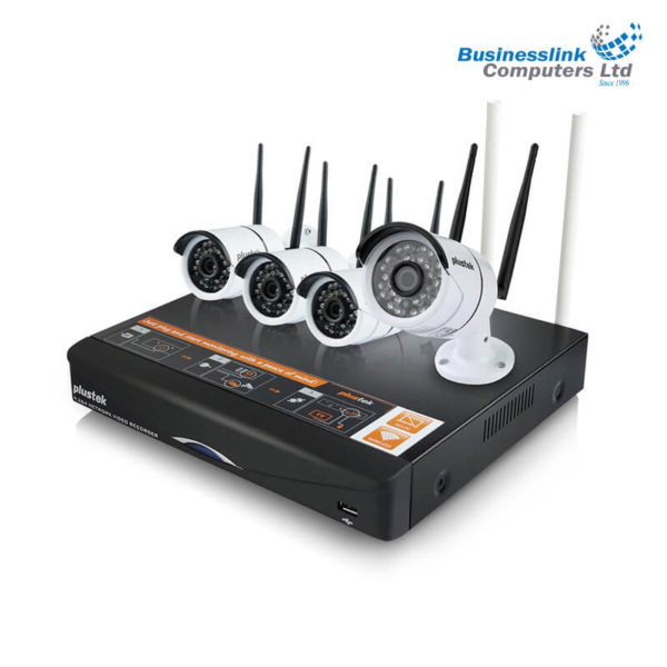 Plustek Wifi DVR kit 4+1@