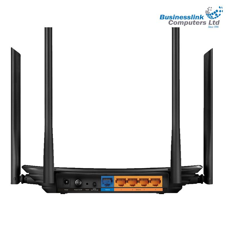 TP-Link Archer C6 AC1200 Wireless MU - MIMO Gigabit Router