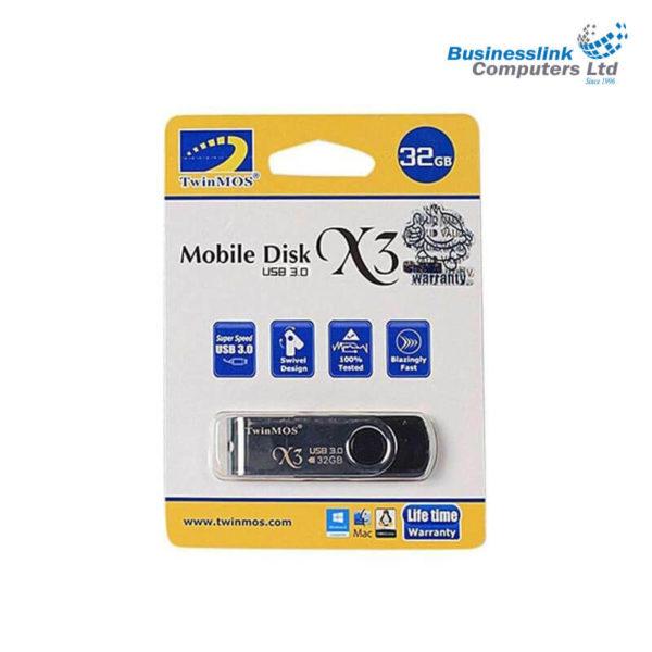 TWINMOS X3 USB 3.0 32GB Pen Drive