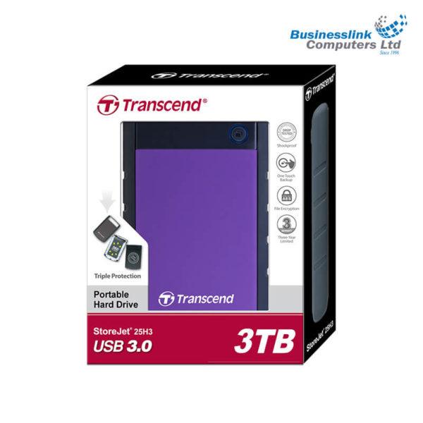 Transcend StoreJet 25H3B 3TB